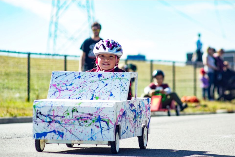 Lake Ridge Community Church is hosting its fifth annual soapbox derby in Chestermere Sept. 14. 