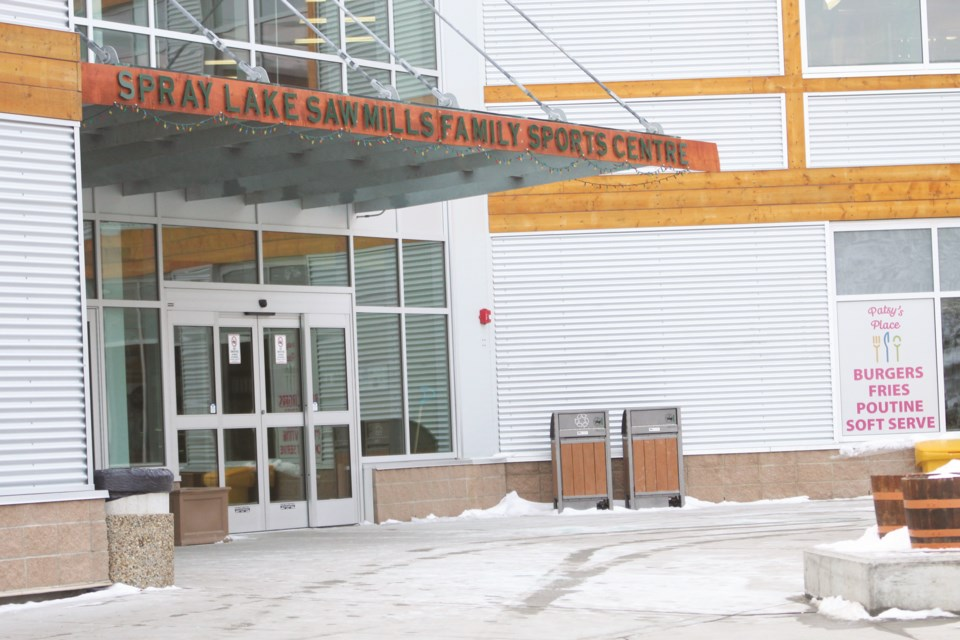 The Spray Lake Sawmills Family Sports Centre adjusted its drop-in and monthly fee structure in October 2019. The rates now allow for use of the whole facility, instead of individual amenities. Photo by Scott Strasser/Rocky View Weekly
