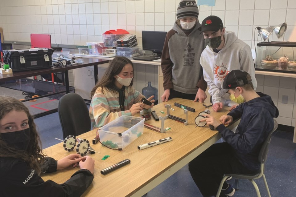 Springbank Community High School's robotics team and innovation lab will benefit from a local community association's raffle next month.