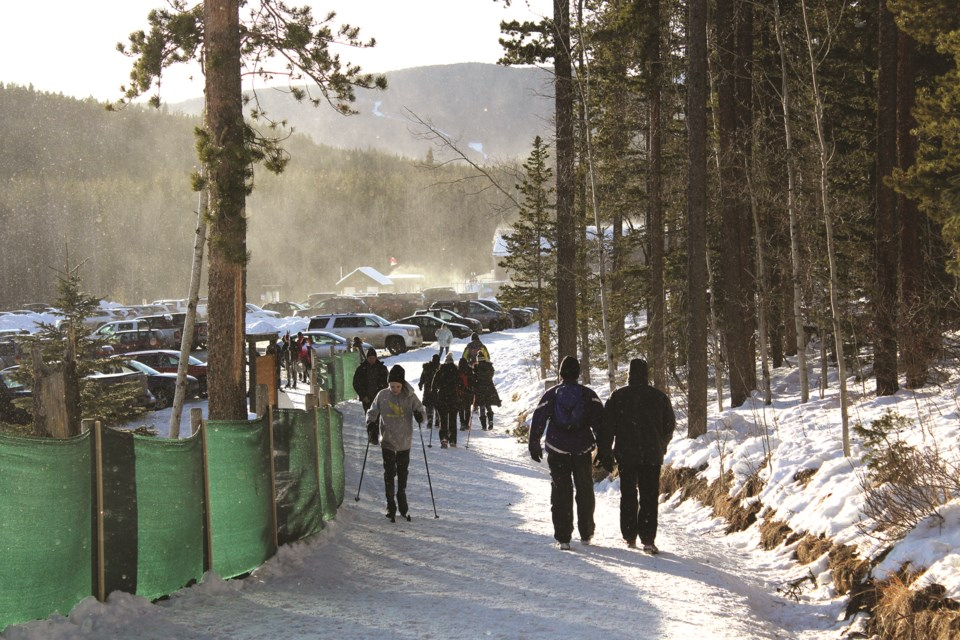 The trail network's popularity is partly attributed to its proximity to Calgary and Cochrane, according to the Bragg Creek Trails president Photo by Scott Strasser/Rocky View Weekly
