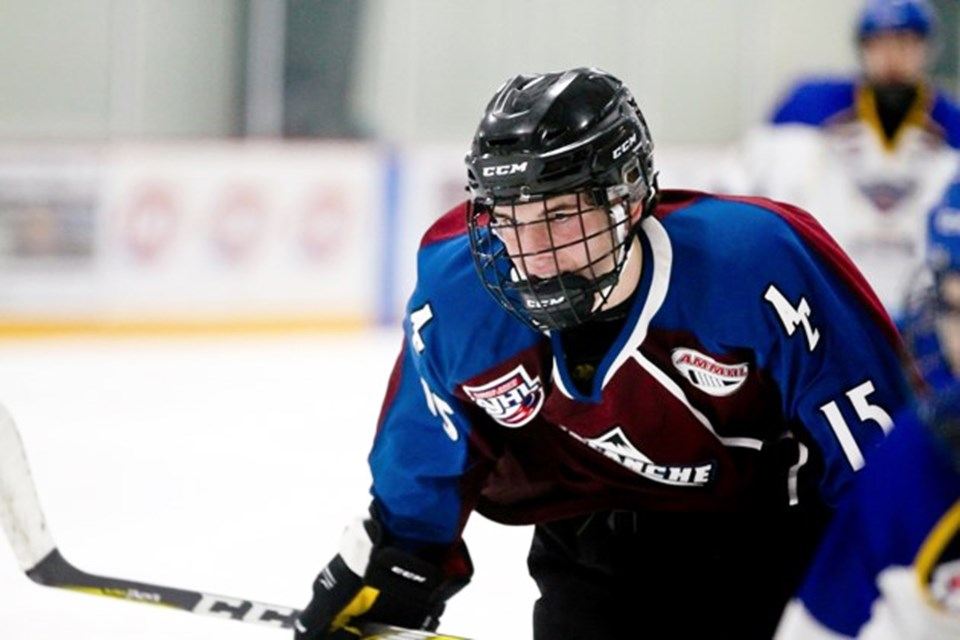The AC Avalanche is a AAA minor-midget hockey team based out of Cochrane. The team competes in the Alberta Minor Midget Hockey League, which caters to high-level 15-year-old players, and acts as a step between the bantam and midget age groups.  File Photo/Rocky View Publishing