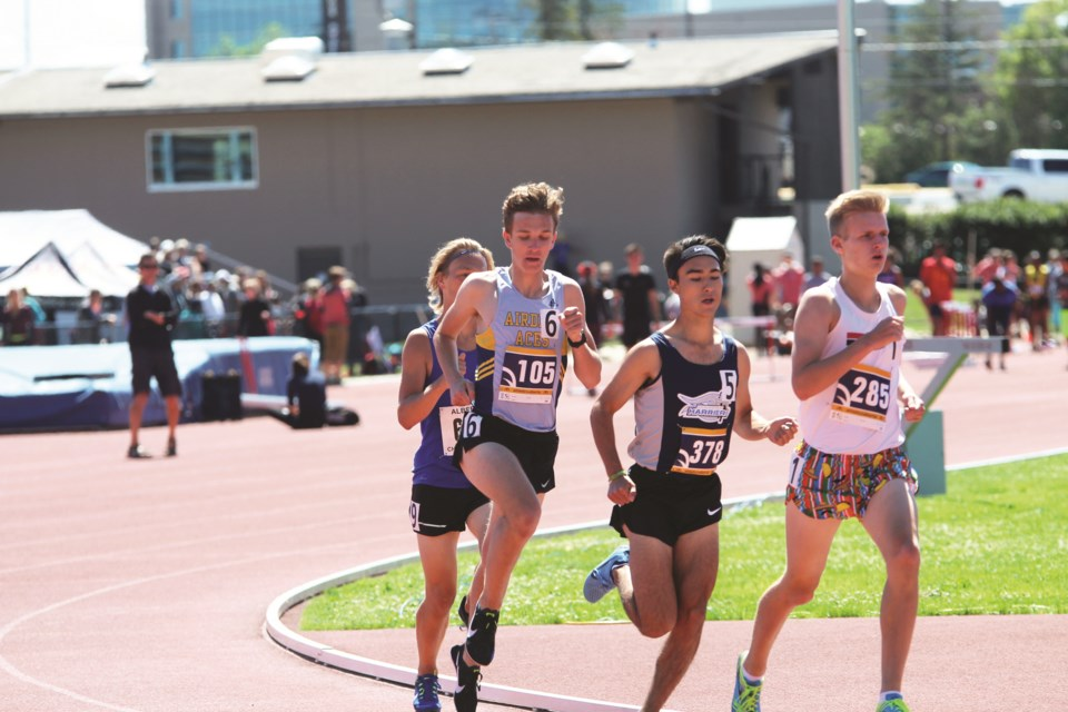 The Airdrie Aces track and field club has ceased operations as a result of financial difficulties brought on by the COVID-19 pandemic. File photo/Airdrie City View.