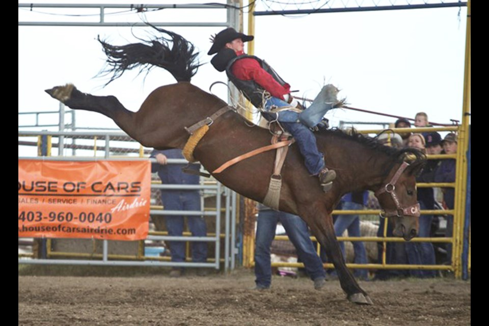 The 2021 Airdrie Pro Rodeo has been cancelled, but organizers say a 50/50 draw will be held instead this month.
