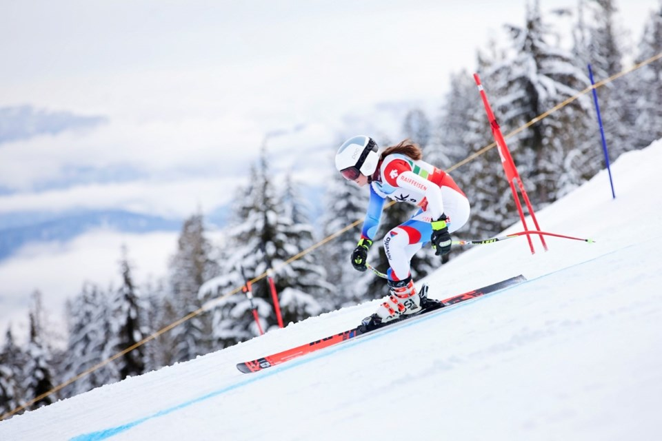 Alessandra Cicalese, 15, will represent Portugal at the 2022 Winter Olympics in Beijing.