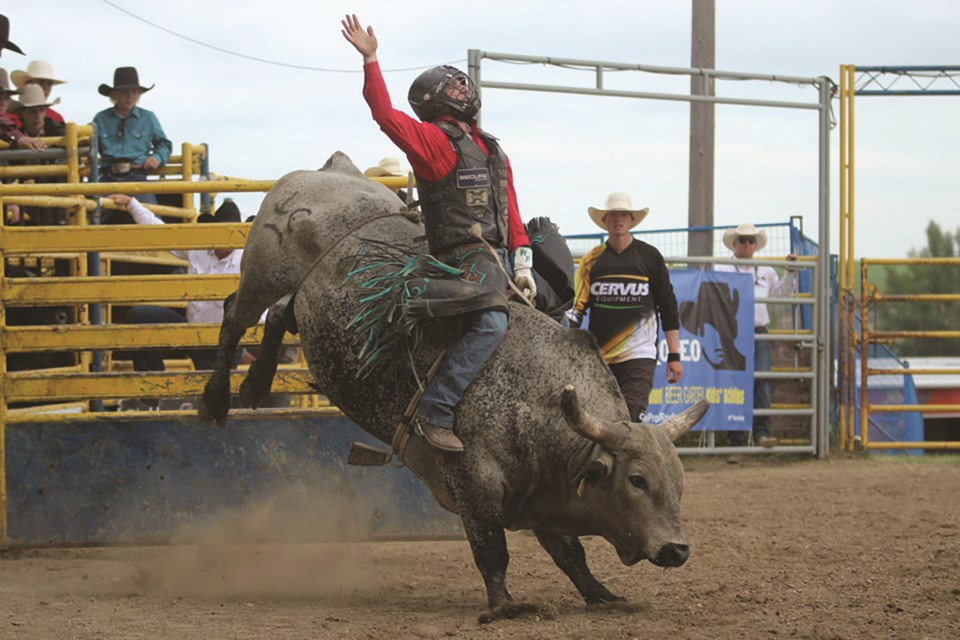 The 2020 Airdrie Pro Rodeo has been cancelled this year due to the COVID-19 pandemic.  File photo/Airdrie City View