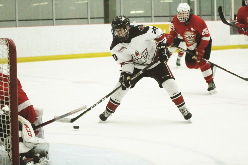 The AC Avalanche AAA minor midget hockey team is just one of many that will see its season put to a premature halt. Photo by Scott Strasser/Airdrie City View