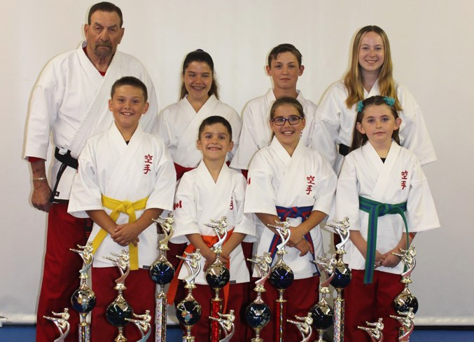 Seven martial artists from Beiseker brought back hardware from the 2019 IMAC World USA Championships in Las Vegas, Nev., June 28 to 30. 