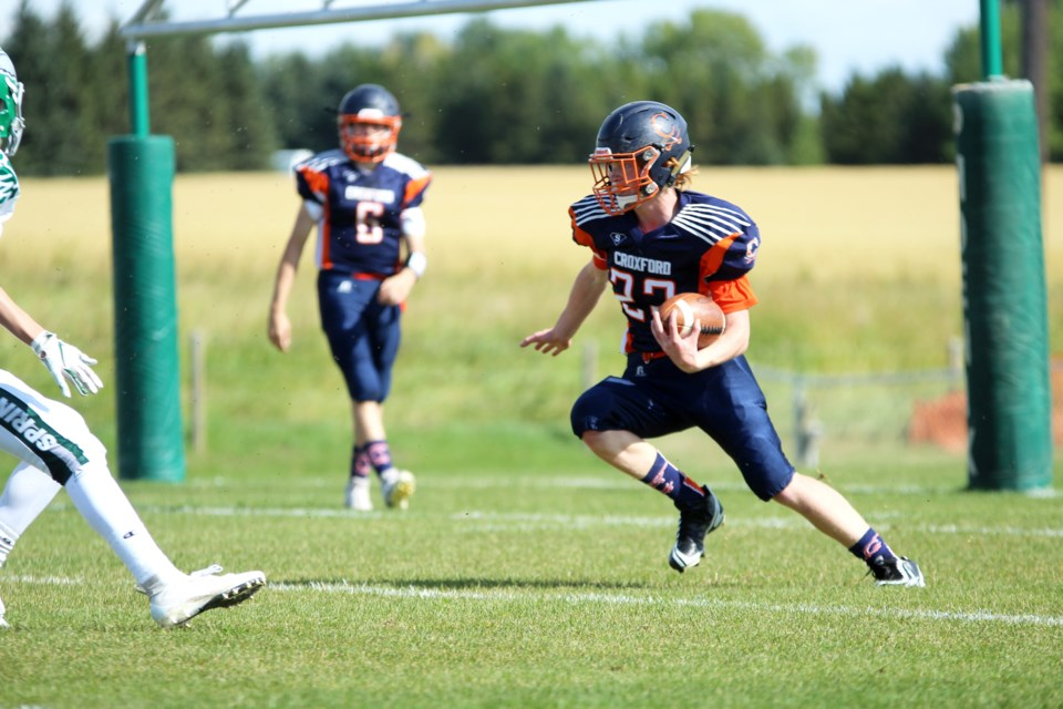The W.H. Croxford Cavaliers football team is 0-2 this season, having started its 2019 campaign against last year's top two teams in the RVSA. 