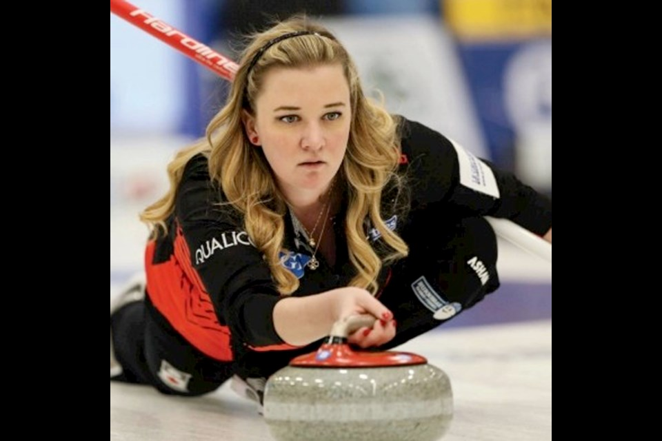 Canadian skip Chelsea Carey will be at Fionn MacCools Irish pub Nov. 22 for a meet and greet, as well as to raise funds for KidSport Calgary. Photo Submitted/For Rocky View Publishing