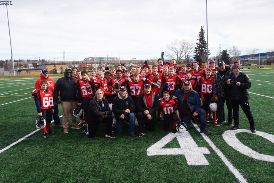 The Chestermere Chiefs minor football association is preparing for the upcoming fall football season. 