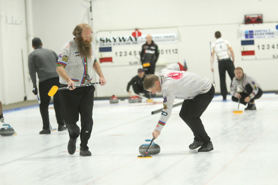 The Airdrie Curling Club is participating in a 50/50 raffle put on by Curling Alberta during the ongoing mixed-doubles national championships in Calgary.