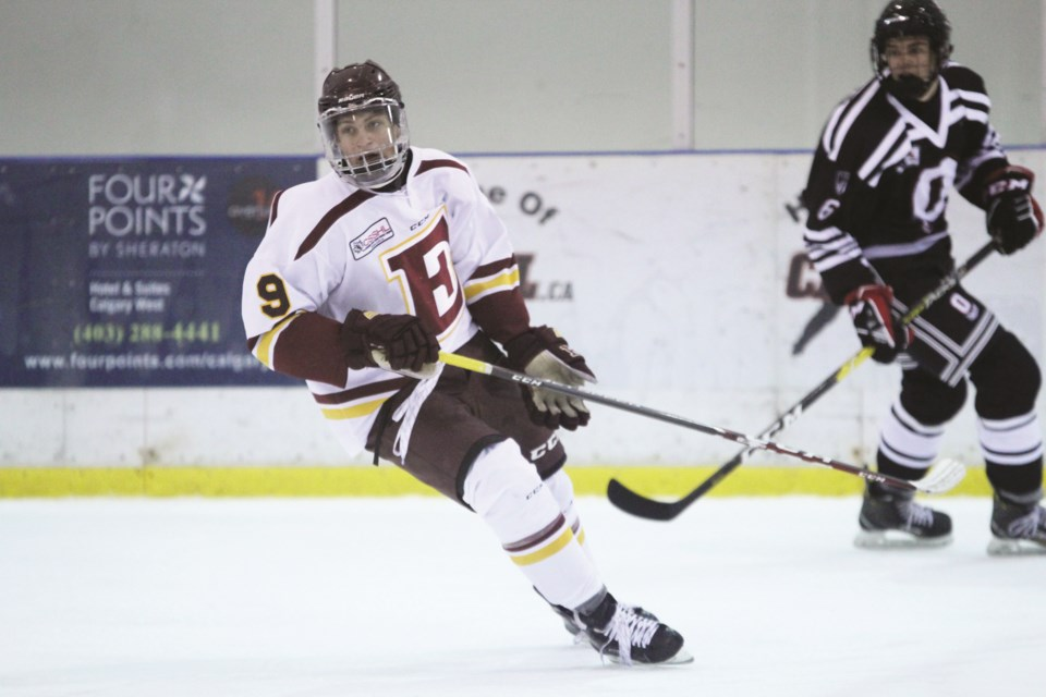 The Edge midget prep team has just seven games left in the 2019-20 regular season, and an eye already on the CSSHL playoffs. File Photo/Rocky View Weekly