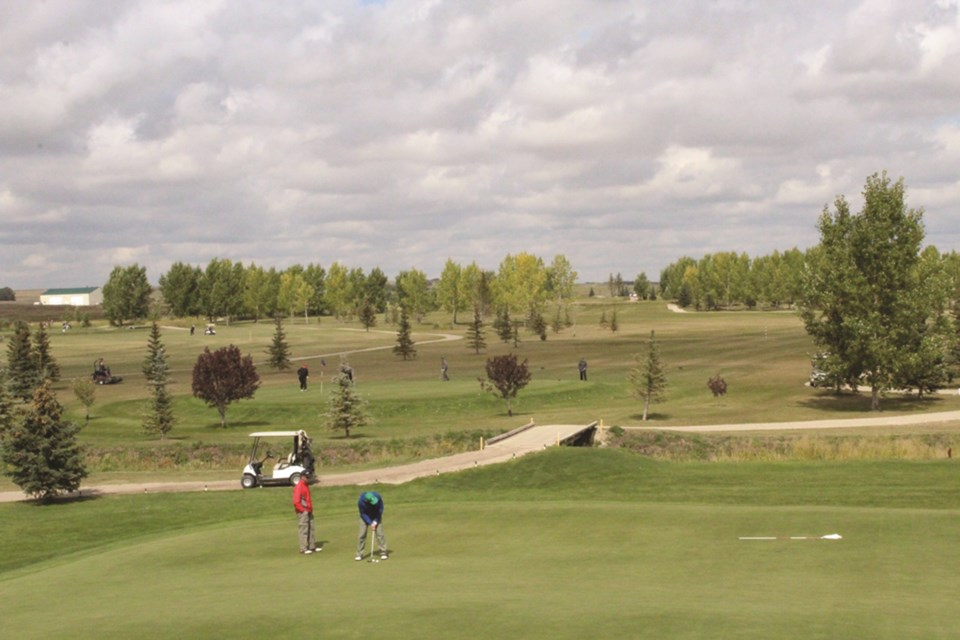 Local golf courses like Apple Creek Golf Course, just north of Airdrie, are adapting to new rules that went into effect on May 10