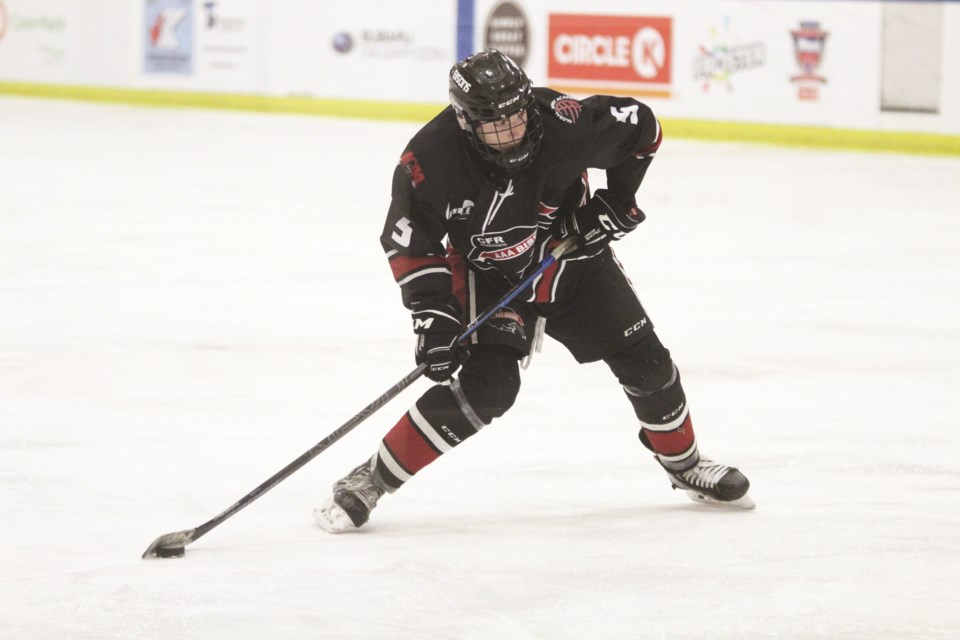 The Airdrie Bisons' 2020-21 season got off to a mixed start, with a win and loss against the Red Deer Optimist Chiefs. File photo/Airdrie City View.