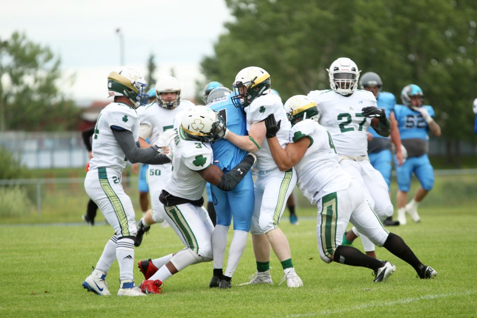 The Airdrie Irish is gearing up for the 2021 Alberta Football League season, which is slated to begin July 17.