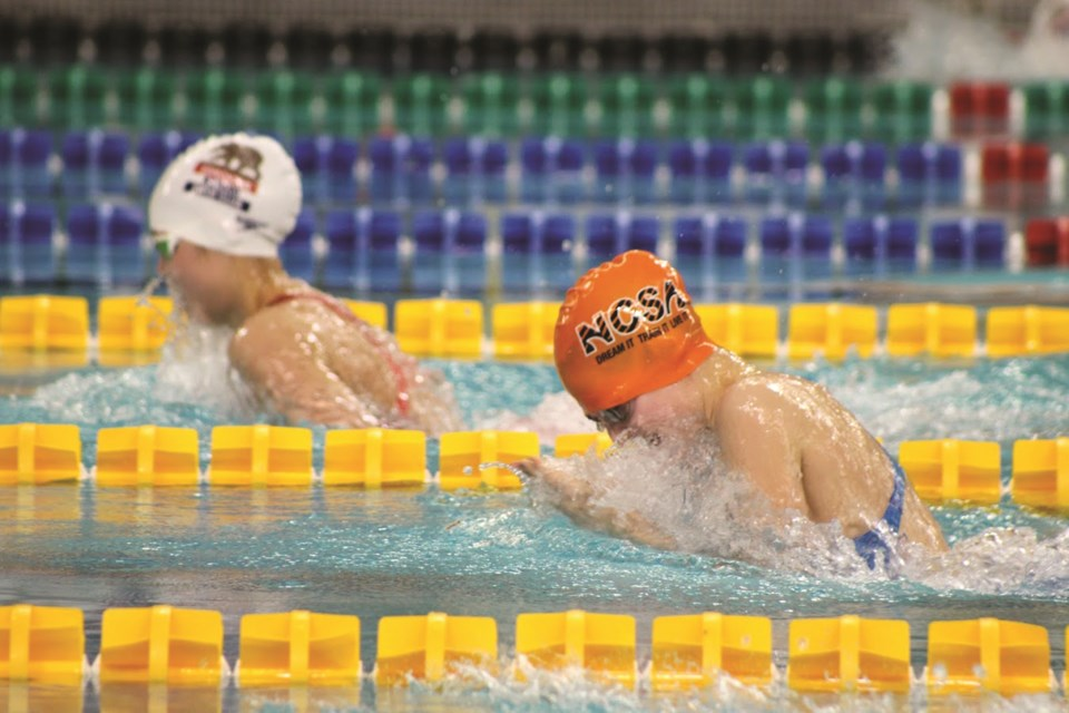 NCSA swimmers will compete at the 2020 John Timmermans Memorial Feb. 27 to 29 at Repsol Sport Centre in Calgary. File Photo/Airdrie City View