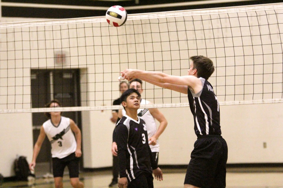The Mustangs senior boys' team earned bronze at the 2019 3A South Central Zones tournament, in Strathmore. File photo/Rocky View Publishing