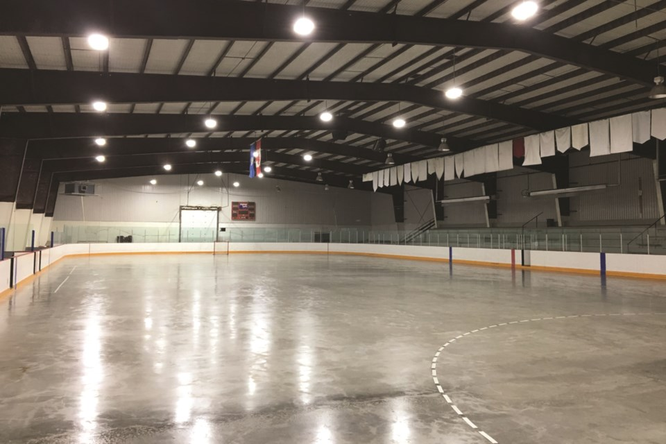 The Pete Knight Memorial Arena will cater to local hockey teams and figure skaters in Crossfield and area. Photo submitted/For Rocky View Weekly.