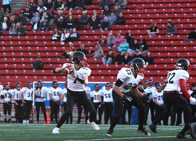 The Airdrie Raiders are a U17 football team comprised of local high school-aged players. File photo/Airdrie City View.