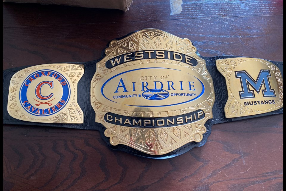 The winner of the newly branded West Side Championship will take home this WWE-style championship belt.