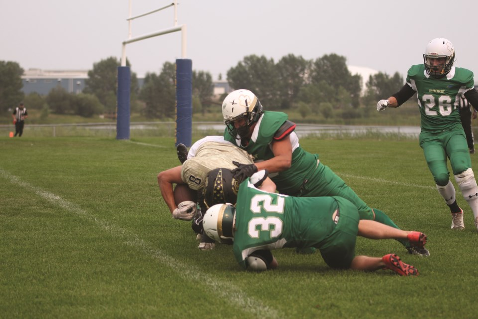 The Airdrie Irish were named the Alberta Football League's Organization of the Year in 2021. File photo/Airdrie City View.