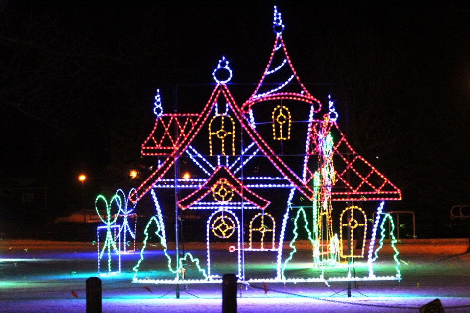 The Airdrie Festival of Lights received backlash after photos were posted to Twitter of large crowds not abiding by public health orders. File photo/Airdrie City View.