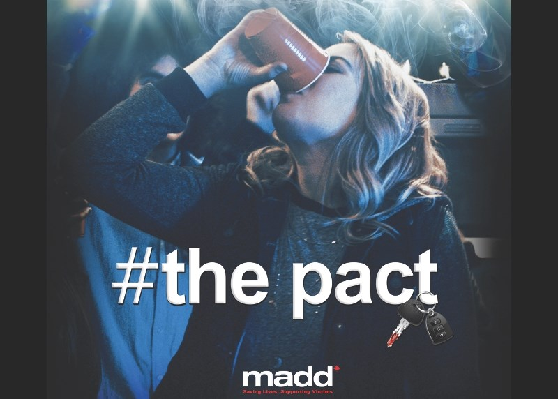 The Pact is a program of MADD Canada which provides high school students with information about the dangers of impaired driving.