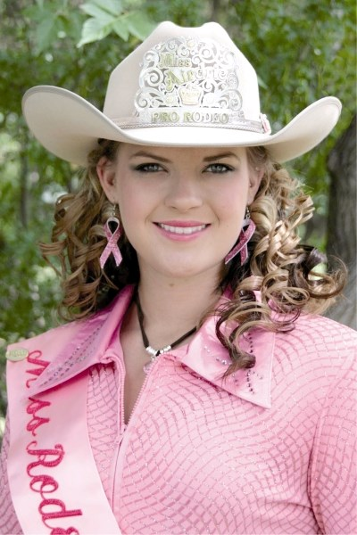 Charmayne Kading is Miss Rodeo Airdrie 2009