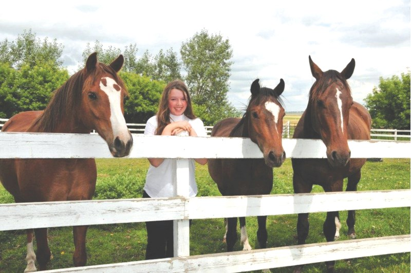 Emily Marston, 15, will be competing at the Pony Club National Dressage Championship, held in Kelowna, Aug. 13-15.