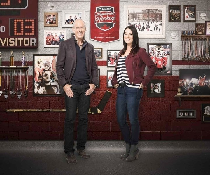 Rogers Hometown Hockey hosts Ron MacLean and Tara Slone will be in Airdrie Dec. 16 and 17 when Hometown Hockey visits Airdrie at the Genesis Place Recreation Centre.