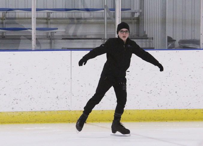 Skilled skater