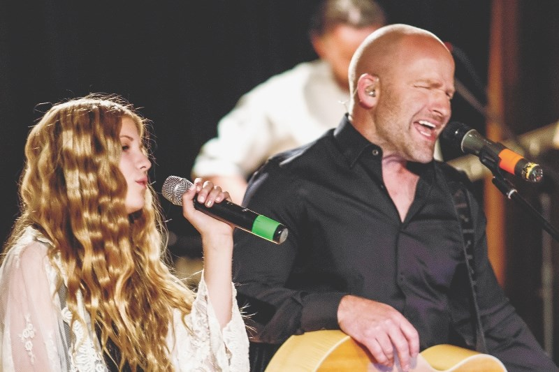 Springbank's Shane Harluk and his daughter Jennie will be performing together March 9 at Country Night Live.