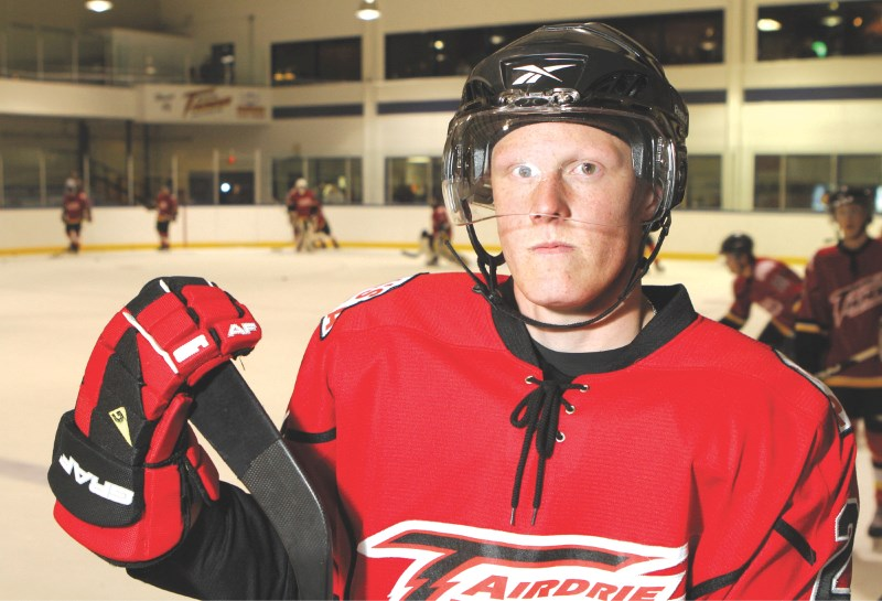 After an amazing start to the season, Andrew Bergmann left the Airdrie Thunder to play Junior A with the Waywayseecappo Wolverines of Manitoba.