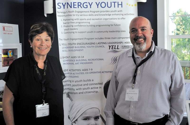 Patty Sproule and Patrick Bergen headed the launch event for Synergy on July 3 at the Calgary Yacht Club in Chestermere, which included refreshments for guests and a short