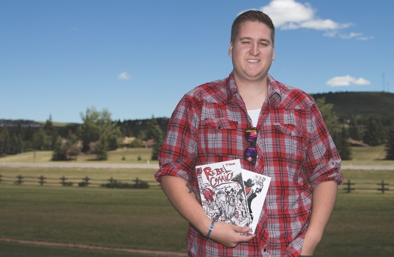 Local writer and artist Tyler Petitclerc, 26, is hoping to turn his passion and love for comic books into Cochrane's first comic shop with his brother Devin Petitclerc,