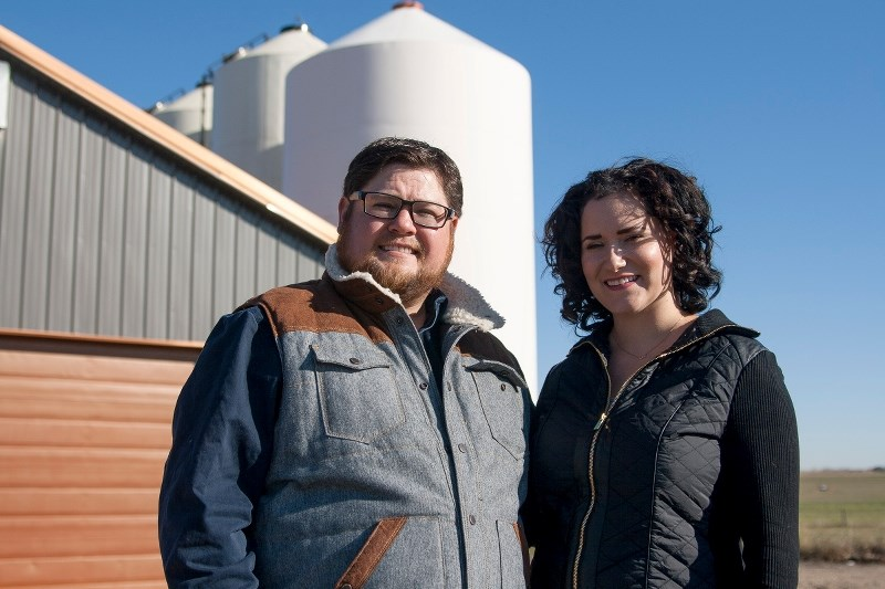 Christopher and Jessica Fasoli are moving Hobo Malt, a custom-built malt house on their homestead outside of Irricana, to a facility in Beiseker and expanding it into a
