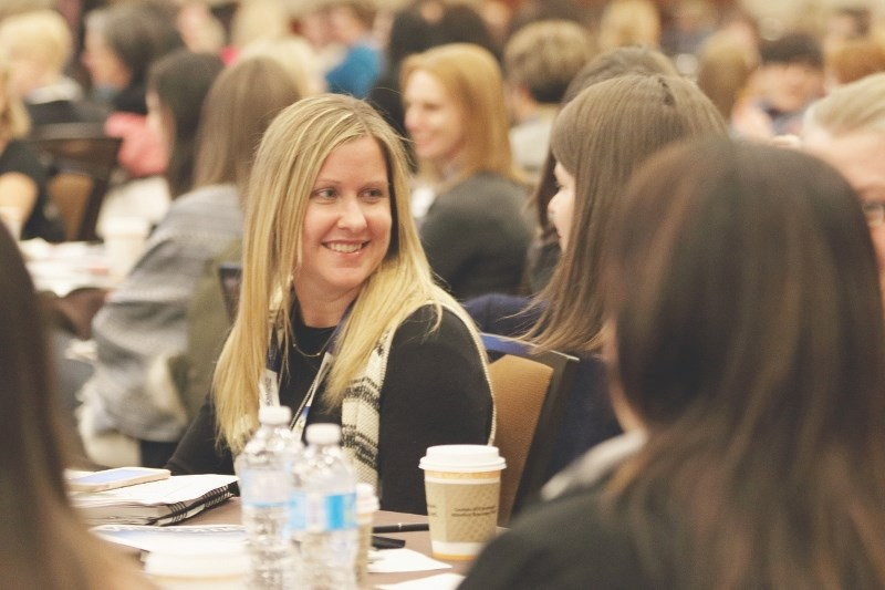 The women who attended the Advancing Women in Agriculture Conference on March 6 and 7 had the opportunity to learn valuable leadership skills and tools to achieve their full