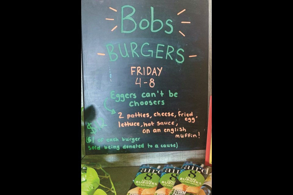Jam's Airdrie got creative and found a way to include fan-favourite television show Bob's Burgers, all in the name of creative food ideas and supporting local charities. Photo By Jam's Airdrie