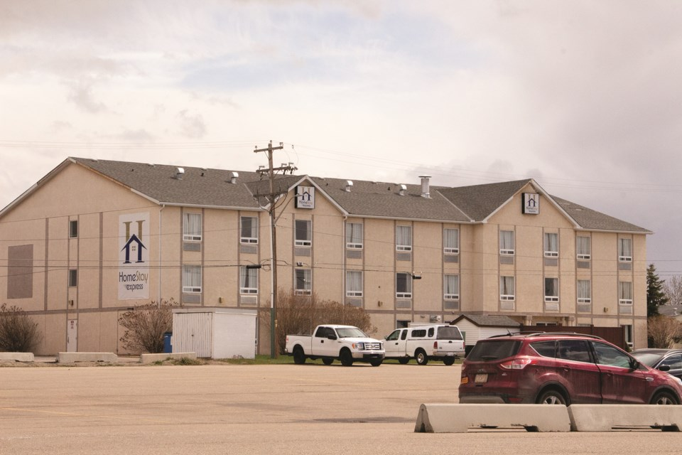 An item passed by council will help bring more affordable housing in Airdrie as a proposed plan will transform the former Super 8 into housing. Photo by Jordan Stricker/Airdrie City View