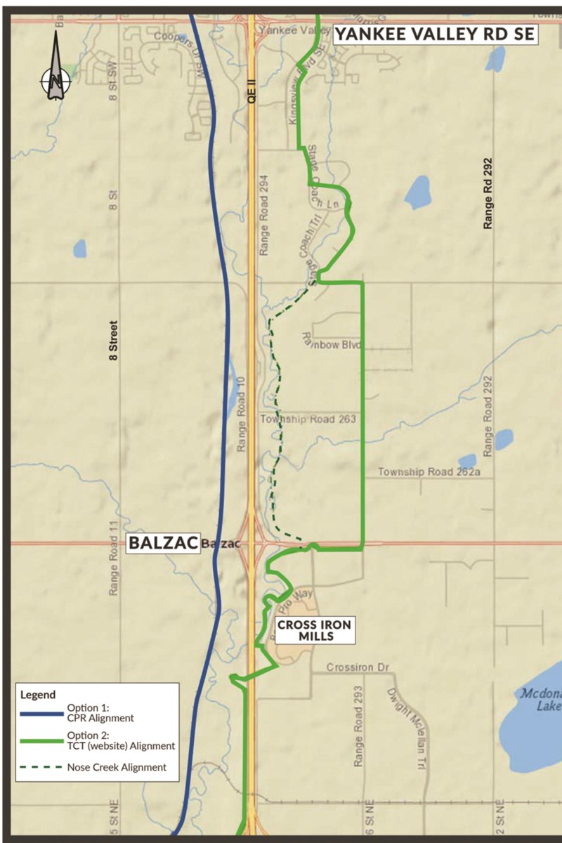 Airdrie City council approves feasibility study funding for Airdrie-to-Calgary bike path