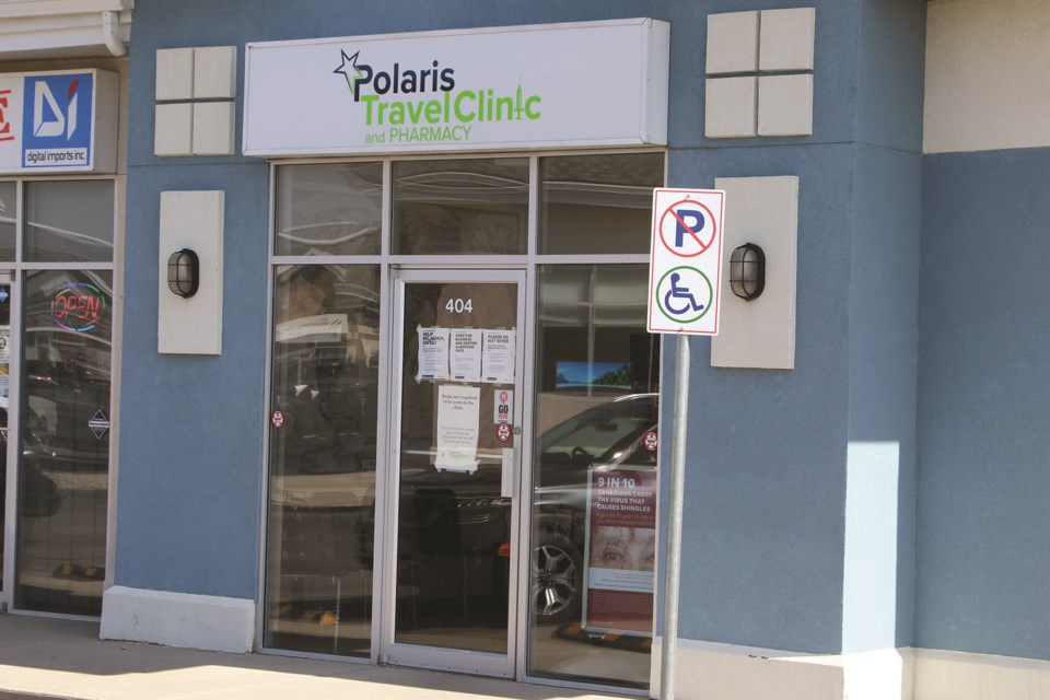 The Polaris Travel Clinic has been denied a greater role in the government's vaccine rollout plan even though the clinic specializes in immunizations.