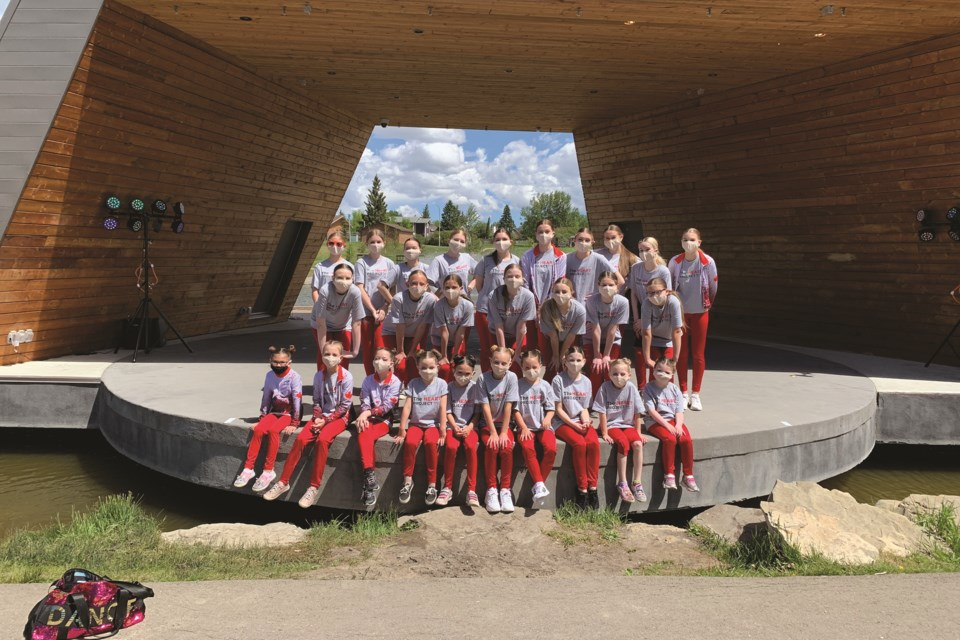 Ambition Performing Arts put on an 11-hour recital in Nose Creek Park on Jun 20 as part of their Heart Project.