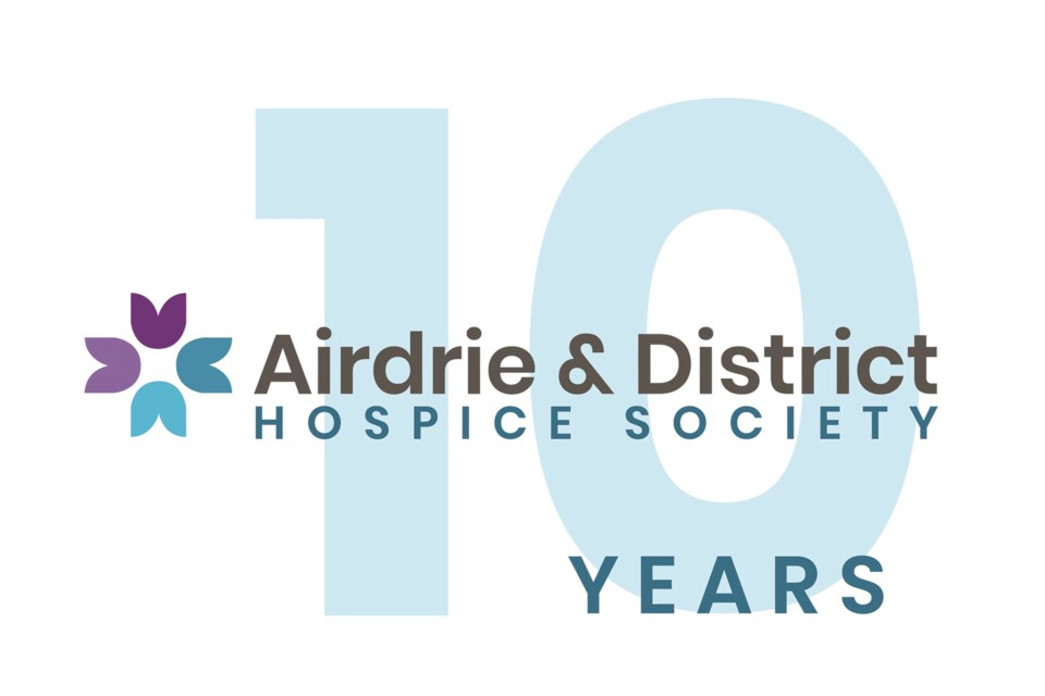 The Airdrie & District Hospice Society is celebrating its 10-year anniversary at its annual general meeting on June 14. Photo submitted/For Airdrie City View