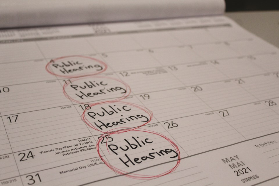 Rocky View County council's workload will be doubling come May 4, as 65 public hearing items are on the schedule that will need to be dealt with before the municipal election in October. Photo by Scott Strasser/Rocky View weekly