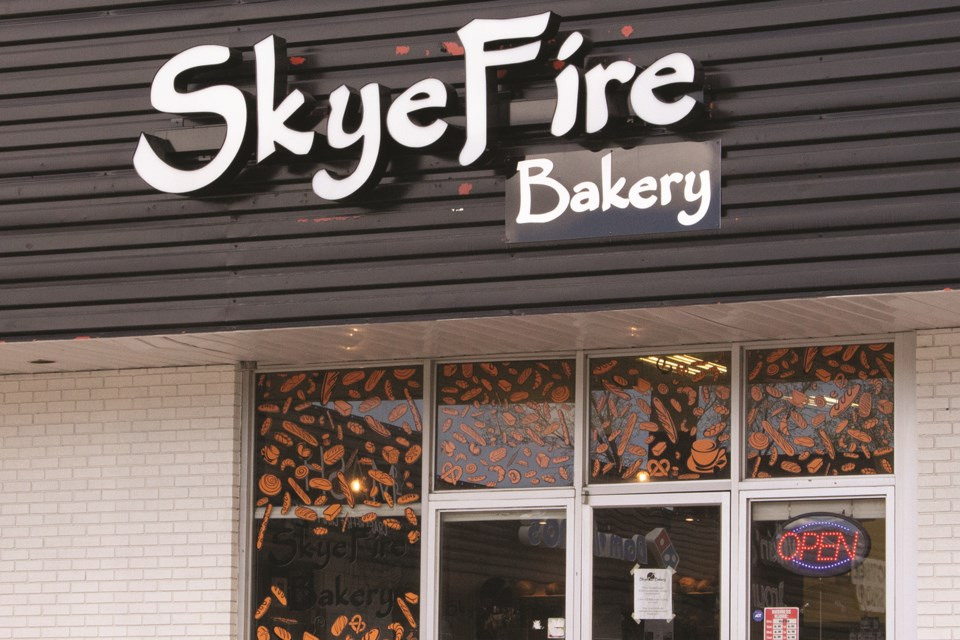 Local business SkyeFire Bakery is set to appear on the upcoming season of Food Network Canada's Project Bakeover television show. Photo by Jordan Stricker/Airdrie City View
