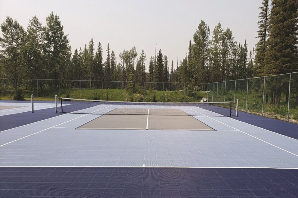 Redwood Meadow's new and innovative courts serve both tennis and pickleball enthusiasts this summer.