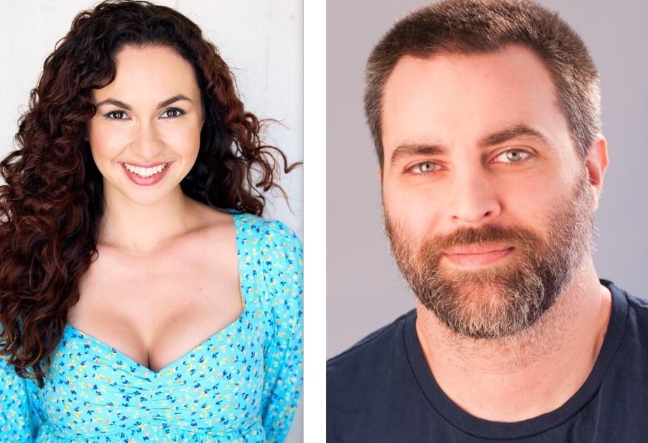 Comedians Cat Alvarado and Matt Gubser are performing at the Lido Theatre Saturday, Oct. 2.