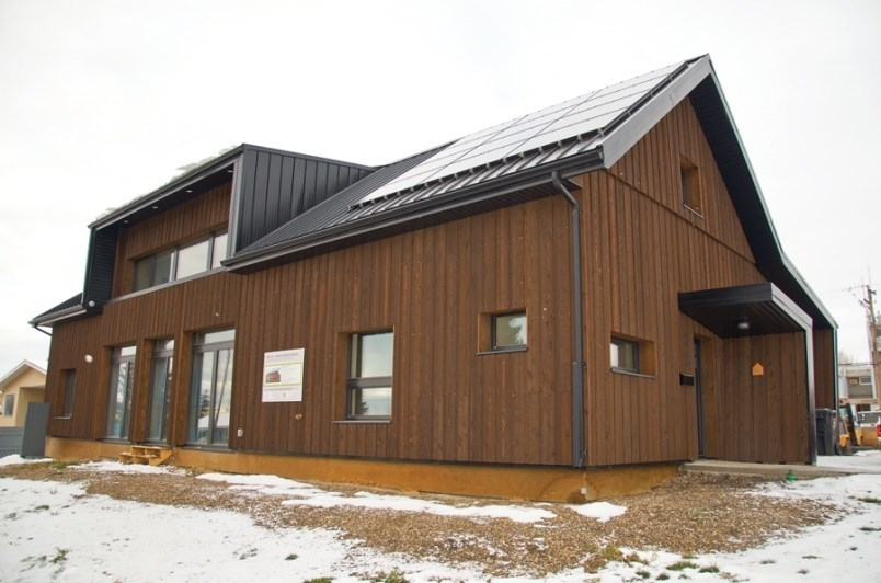 The Fort St. John Passive House, located at 9904 94th Street.