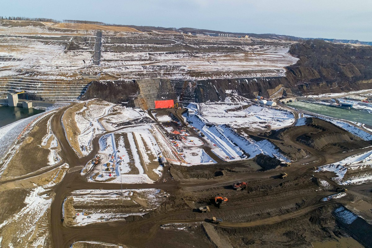 BC Hydro changes Site C haul plans