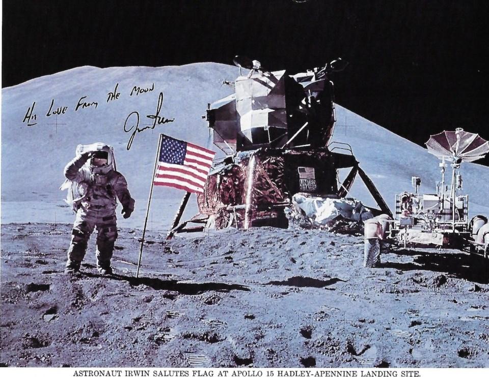 Astronaut Irwin